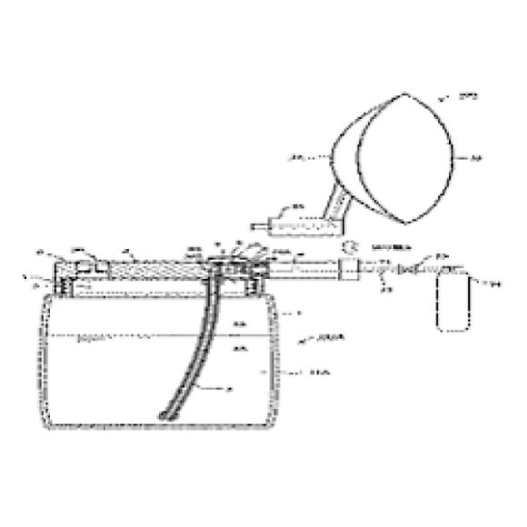 (18) ポータブル水素水噴出装置