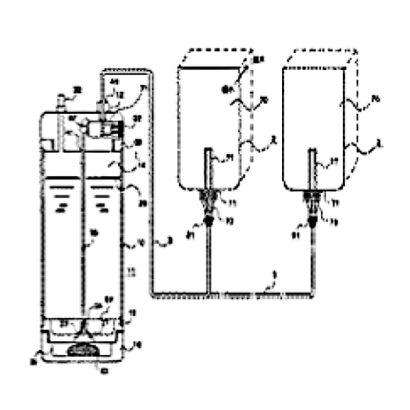 (19) 加圧された水素ガスの圧力で水素水あるいは水素ガスを導出させて水素水を形成する加圧圧力形成タイプ